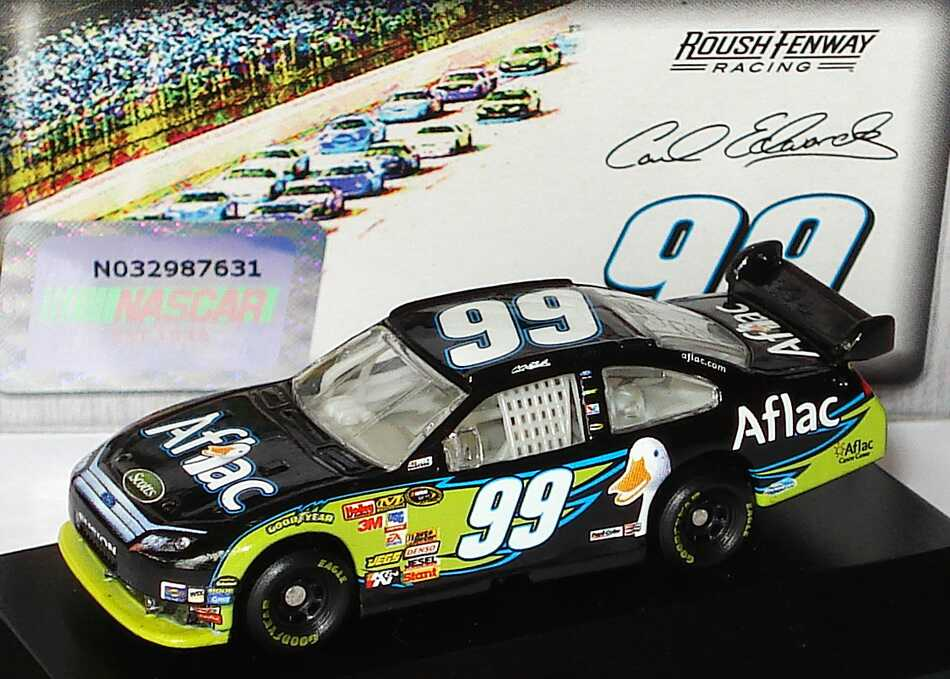 Foto 1:87 Ford Fusion NASCAR 2010 Roush Fenway Racing, Aflac Nr.99, Carl Edwards Winners Circle 09722