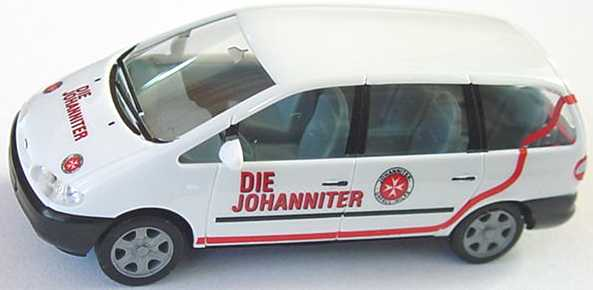 Foto 1:87 Ford Galaxy Die Johanniter herpa 043298