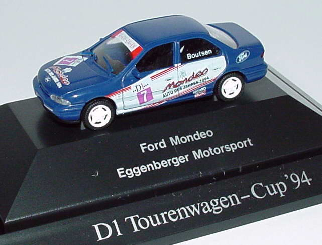 Foto 1:87 Ford Mondeo Stufenheck ADAC TW-Cup 1994 Eggenberger Motorsport Nr.7, Boutsen Rietze 90112