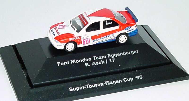 Foto 1:87 Ford Mondeo Stufenheck STW 1995 Eggenberger, Borbet, Sonax Nr.17, R. Asch Rietze