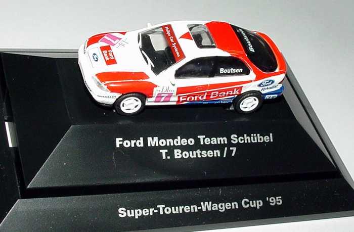 Foto 1:87 Ford Mondeo Stufenheck STW 1995 Schübel, Ford-Bank Nr.7, T. Boutsen Rietze 90131