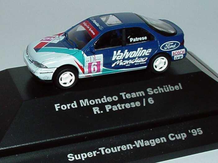 Foto 1:87 Ford Mondeo Stufenheck STW 1995 Schübel, Valvoline Nr.6, R. Patrese Rietze 90130