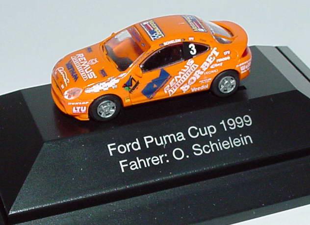 Foto 1:87 Ford Puma Puma-Cup´99 Remus Nr.3, Schielein Rietze 90157