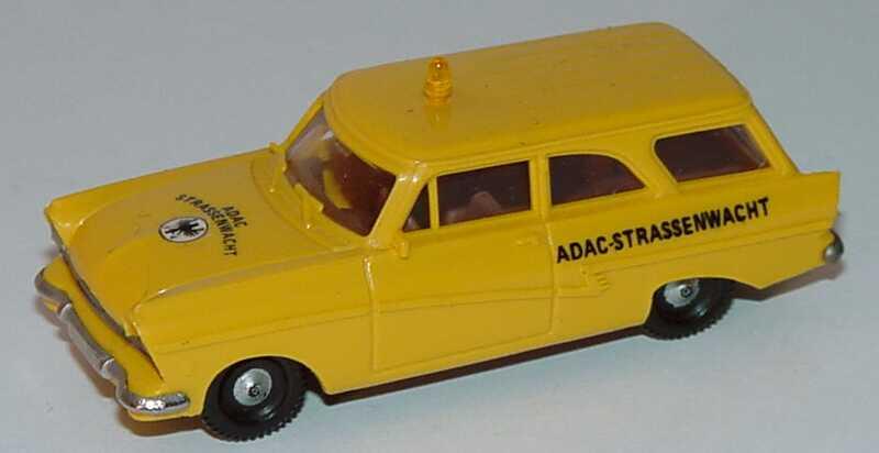 Foto 1:87 Ford Taunus 17m P2 Kombi ADAC Strassenwacht Brekina