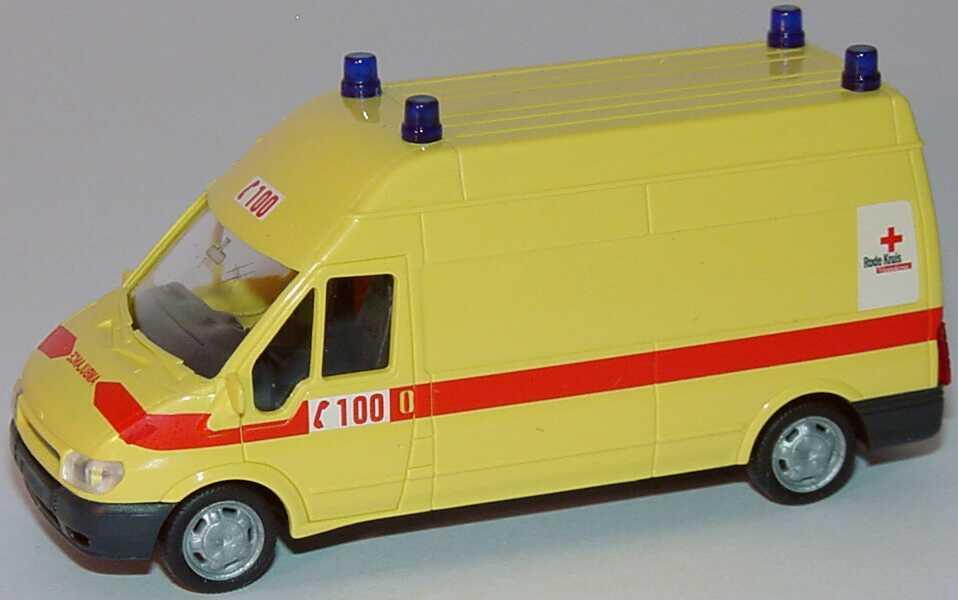 Foto 1:87 Ford Transit 2000 Kasten Lang Hochdach Ambulance - Rode Kruis Vlanderen (Belgien) Rietze 51045