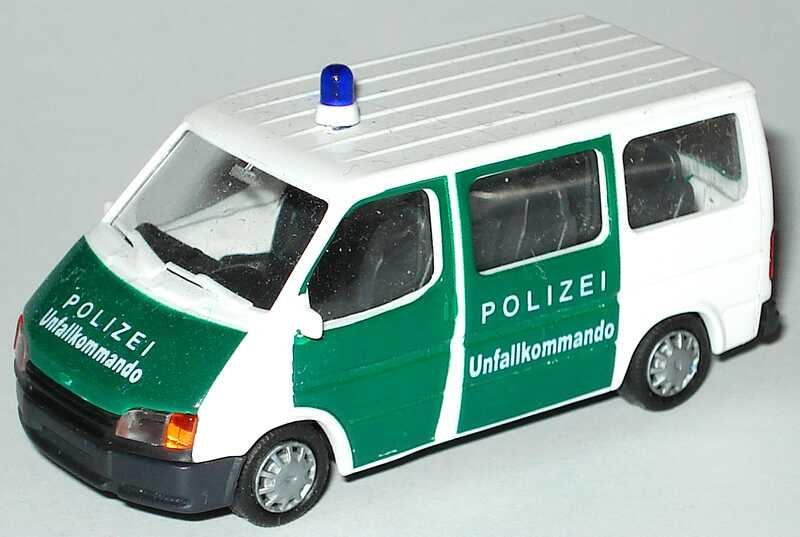 Foto 1:87 Ford Transit B Bus Polizei Unfallkommando Rietze
