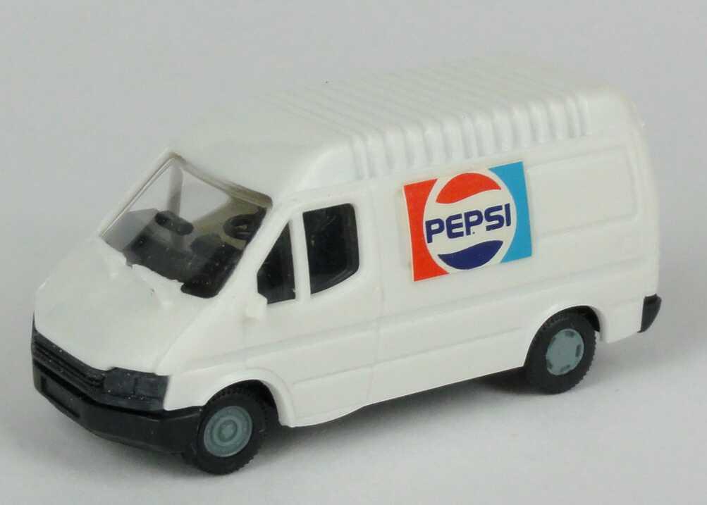 Foto 1:87 Ford Transit B Kasten mittelhohes Dach Pepsi Verem 3028