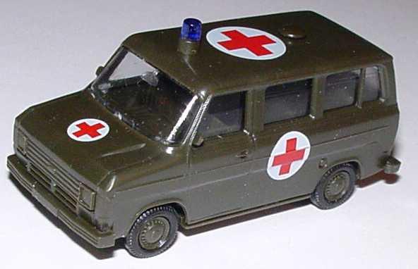 Foto 1:87 Ford Transit Bus Militär Rotes Kreuz Maag 700122