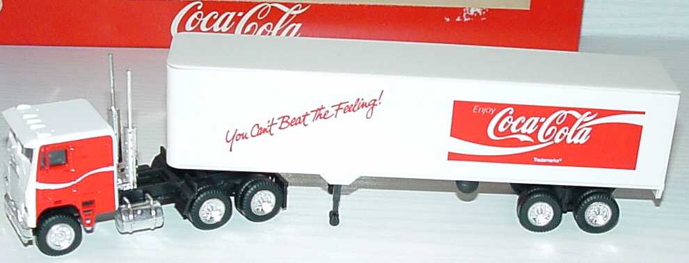 Foto 1:87 Freightliner COE KoSzg 3/2 Enjoy Coca-Cola, You Can´t Beat The Feeling Albedo