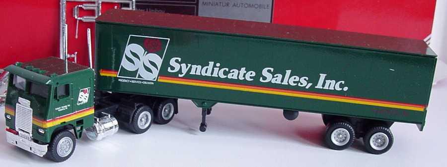 Foto 1:87 Freightliner COE KoSzg 3/2 Syndicate Sales, Inc. herpa 854003