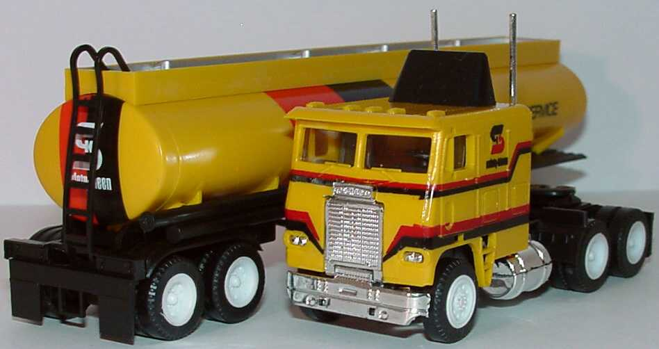 Foto 1:87 Freightliner COE TSzg 3/2 Safety-Kleen - Parts Cleaner Service herpa 854004