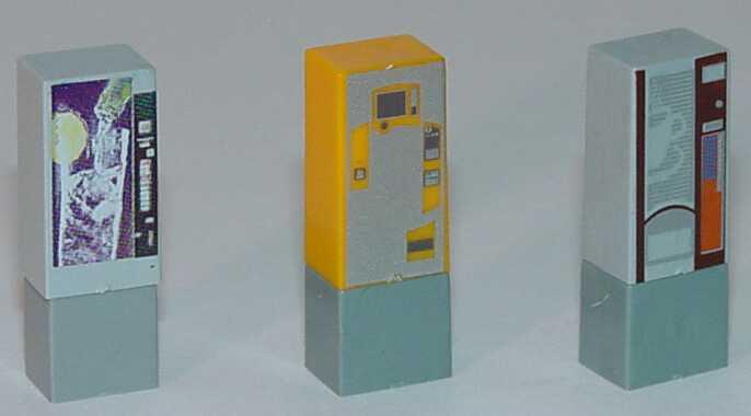 Foto 1:87 Getränkeautomaten (3 Stück) Rietze 700198