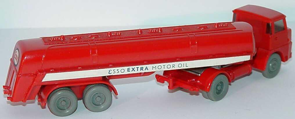 Foto 1:87 Henschel HS 16 (k) TankSzg 2/2 Esso Extra Motor Oil (mit Zughaken) Wiking 790