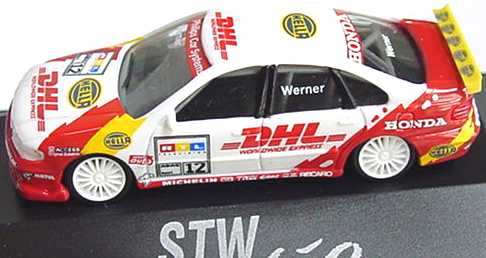 Foto 1:87 Honda Accord STW 1997 DHL, New Yorker Nr.11, Altfried Heger herpa 037235