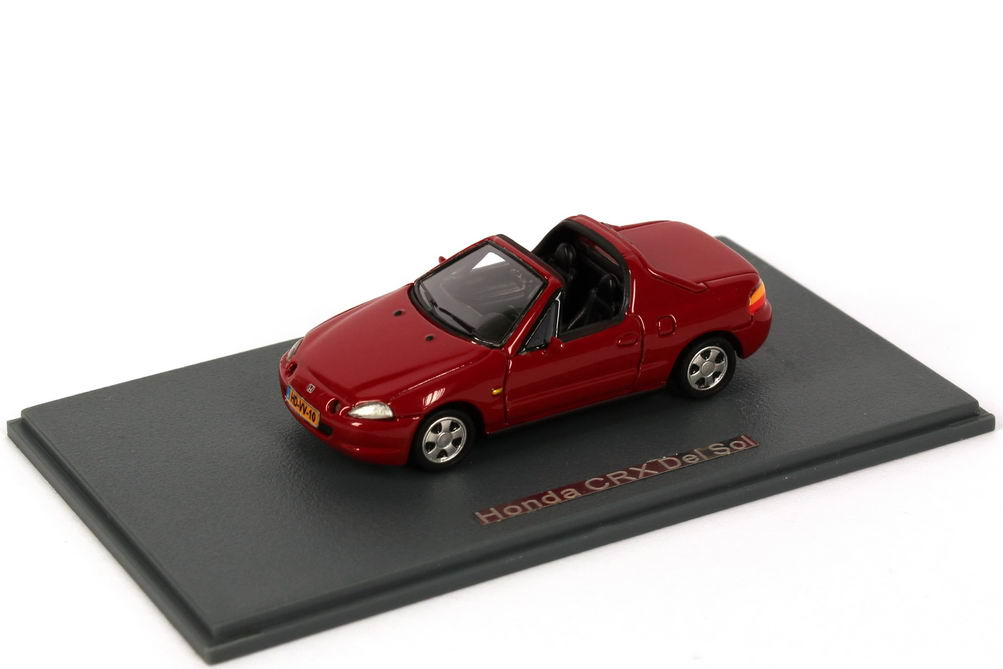 Foto 1:87 Honda CRX del Sol rot NEO Scale Models 87410
