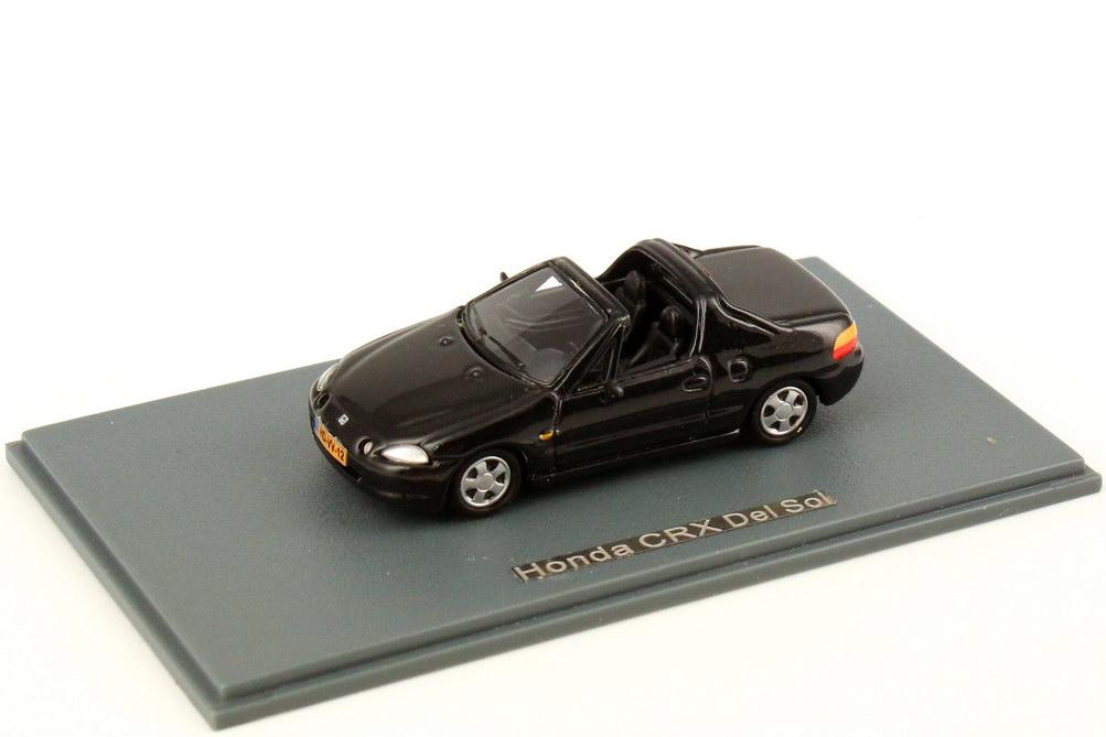 Foto 1:87 Honda CRX del Sol schwarz-met. NEO Scale Models 87412