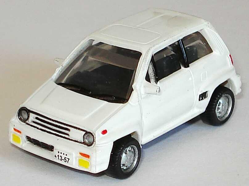Foto 1:87 Honda City Turbo II (1984) weiß Furuta H03