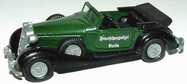 Foto 1:87 Horch 853 Cabrio Feuerschutzpolizei Berlin Praliné
