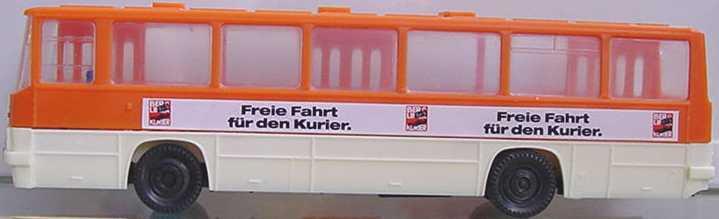 Foto 1:87 Ikarus 260 Freie Fahrt für den Kurier SES Automodelle