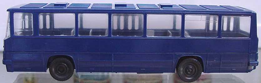 Foto 1:87 Ikarus 260 dunkelblau SES Automodelle