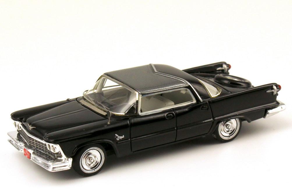 Foto 1:87 Imperial Crown 4-door Southampton (1958) schwarz / grau-met. NEO Scale Models 87571