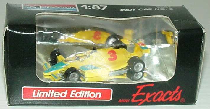 Foto 1:87 Indy Car gelb Nr.3 Monogram 2081