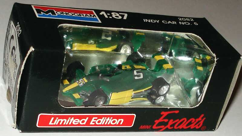 Foto 1:87 Indy Car grün Nr.5 Monogram 2082