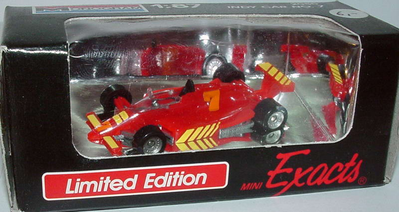 Foto 1:87 Indy Car rot Nr.7 Monogram 2080
