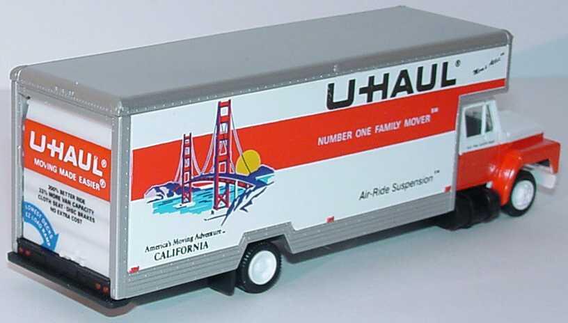 Foto 1:87 International 2a Möbelwagen U Haul California herpa 141703