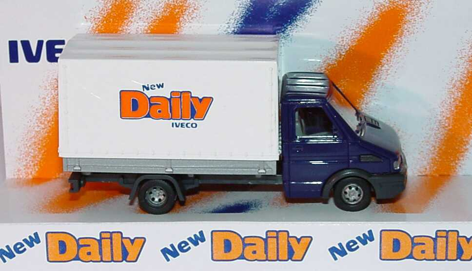 Foto 1:87 Iveco Daily Pritsche/Plane New Daily Werbemodell Busch 2619
