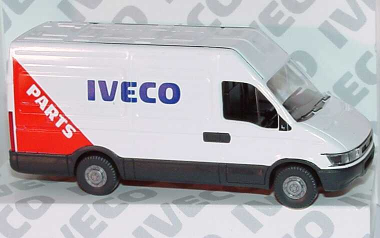 Foto 1:87 Iveco Daily (S2000) Kasten lang Hochdach Iveco Parts Werbemodell Wiking 2729