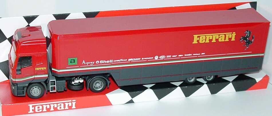 Foto 1:87 Iveco EuroStar RenntransportSzg 2/2 Ferrari Paul´s Model Art 022485