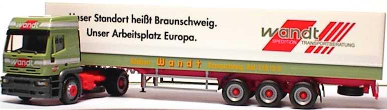 Foto 1:87 Iveco EuroTech Hochdach PPSzg 2/3 Wandt, Unser Standort ... herpa 143592