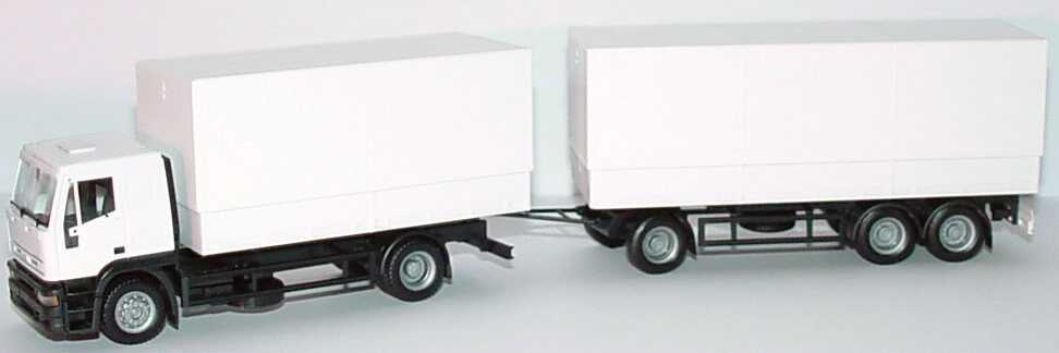 Foto 1:87 Iveco EuroTech PPHgz 2/3 weiß herpa 143387