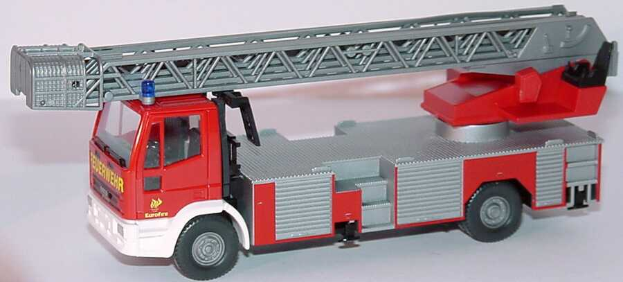 Foto 1:87 Iveco Magirus EuroFire Drehleiter DLK 23-12 Feuerwehr Wiking 61903