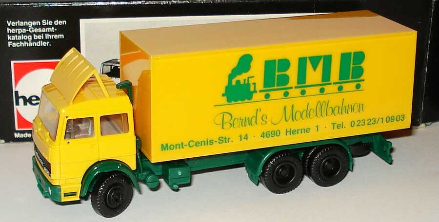 Foto 1:87 Iveco Magirus Turbo 3a Ko-LKW Bernd´s Modellbahnen, Herne herpa