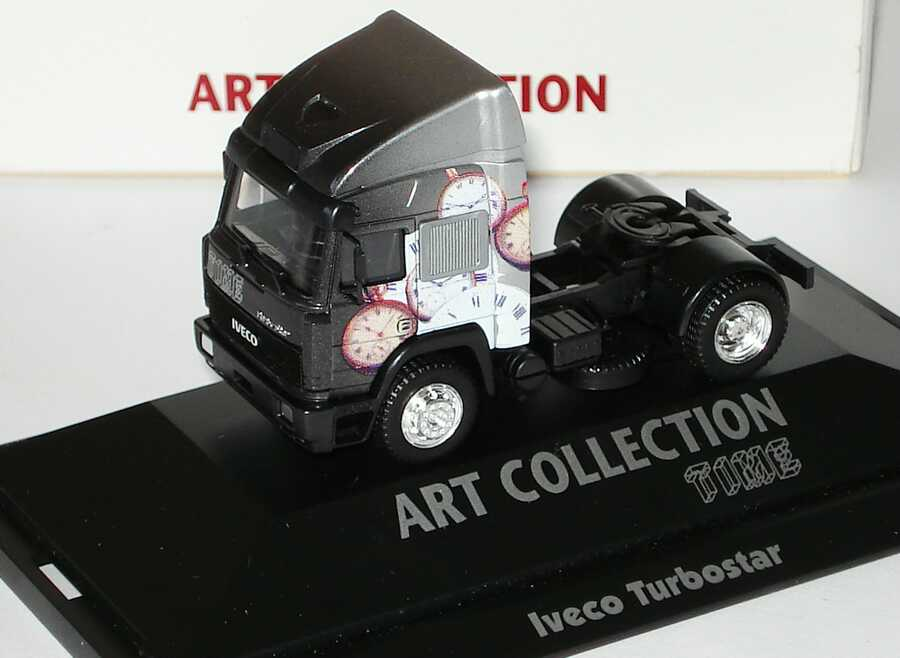Foto 1:87 Iveco TurboStar Fv 2a Szgm Time (Art-Collection) herpa 045070