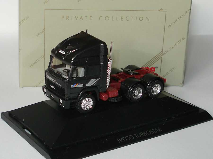 Foto 1:87 Iveco TurboStar 3a Szgm antrazit-met. - Private Collection - herpa 87400