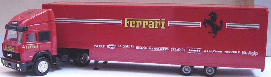 Foto 1:87 Iveco TurboStar Fv JuKoSzg 2/2 Ferrari herpa