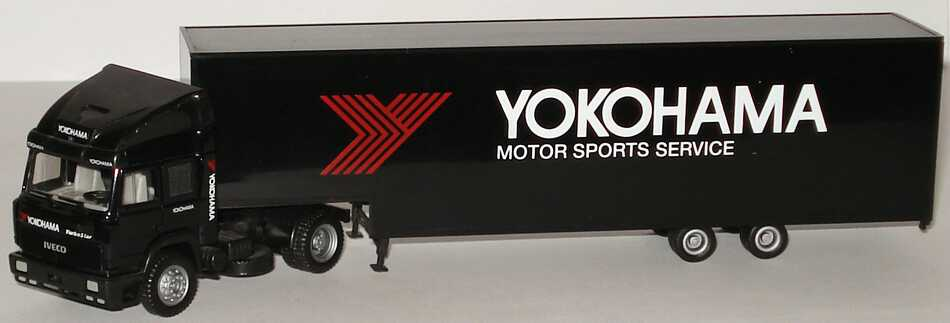 Foto 1:87 Iveco TurboStar Fv JuKoSzg 2/2 Yokohama Motor Sport Service herpa