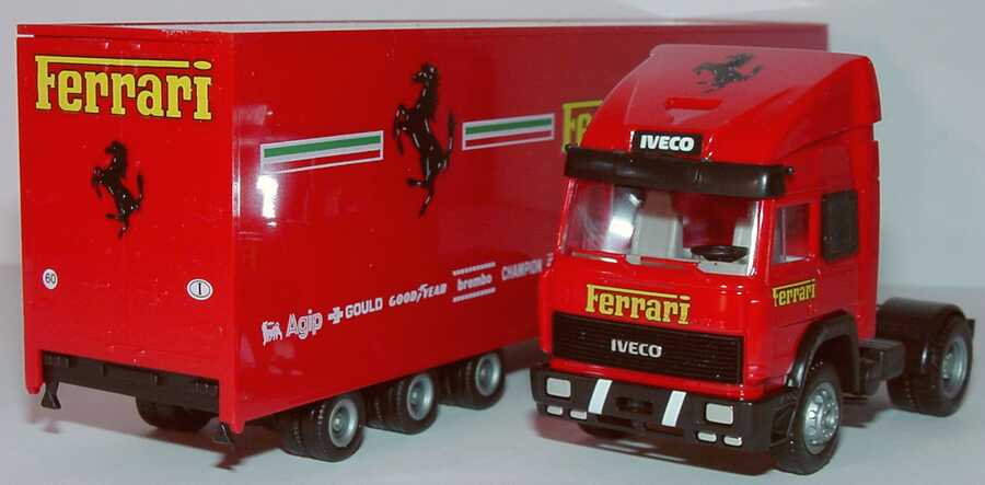 Foto 1:87 Iveco TurboStar Fv JuKoSzg 2/3 Ferrari herpa 141642