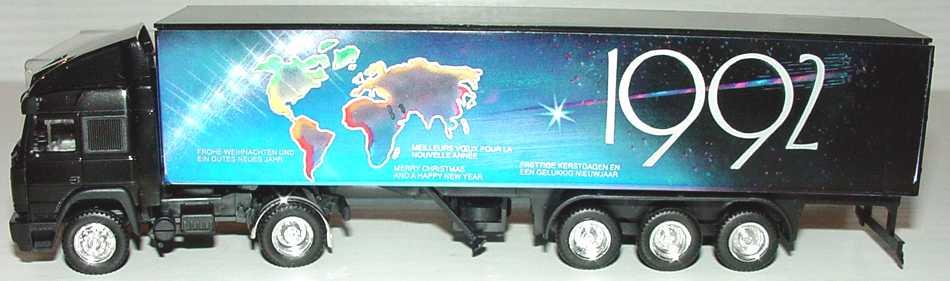 Foto 1:87 Iveco TurboStar Fv KoSzg 2/3 Weihnachten 1992 Schlüter-Sondermodell Albedo