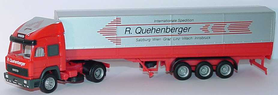 Foto 1:87 Iveco TurboStar Fv PPSzg 2/3 Internationale Spedition R. Quehenberger herpa 881006