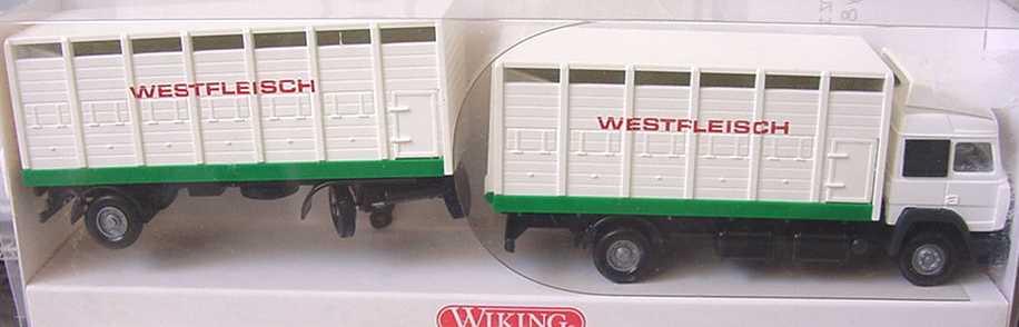 Foto 1:87 Iveco TurboStar Fv ViehtransportHgz 2/2 Westfleisch Wiking 5650131