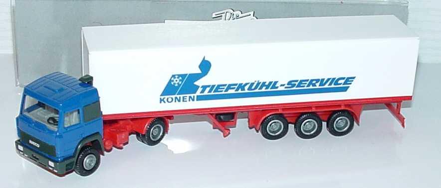 Foto 1:87 Iveco TurboStar KoSzg 2/3 Könen Tiefkühl-Service Albedo