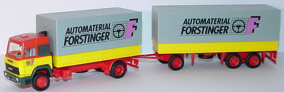 Foto 1:87 Iveco TurboStar PPHgz 2/3 Automaterial Forstinger herpa 881518