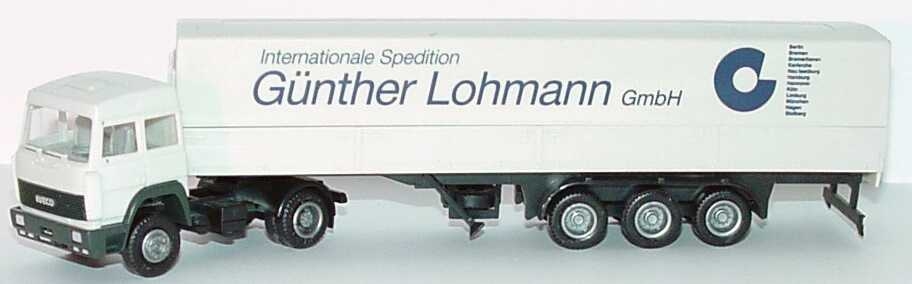 Foto 1:87 Iveco TurboStar PPSzg 2/3 Internationale Spedition Günter Lohmann GmbH herpa