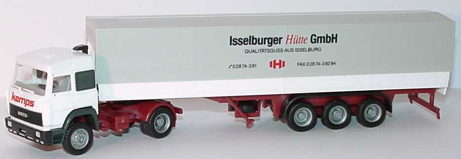Foto 1:87 Iveco TurboStar PPSzg 2/3 Isselburger Hütte GmbH herpa
