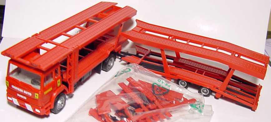 Foto 1:87 Iveco TurboTech AutotransportHgz 2/2 Crepaldi Auto, Ferrari herpa