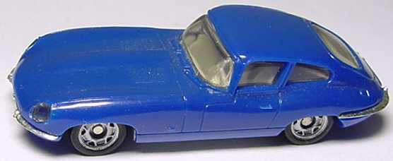 Foto 1:87 Jaguar E-Type blau Monogram